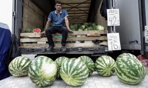 Фото №1 - Сколько нитратных арбузов продается в Петербурге и можно ли ими отравиться