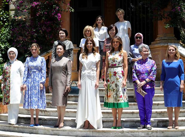 Фото №4 - G20 в Аргентине: самые яркие модные выходы Первых леди