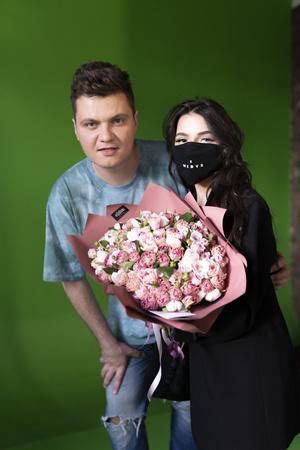 Фото №5 - «Носила маску, когда это еще не было мейнстримом»: Tenderlybae и Кирилл Диденок о буллинге, славе и новой музыке