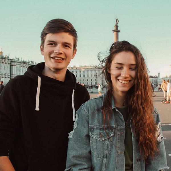 Димитрий Матевосов и Дина Немцова