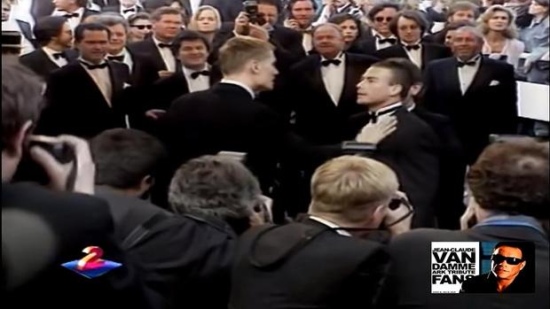 Потасовка Лундгрена и Ван Дамма, 1992