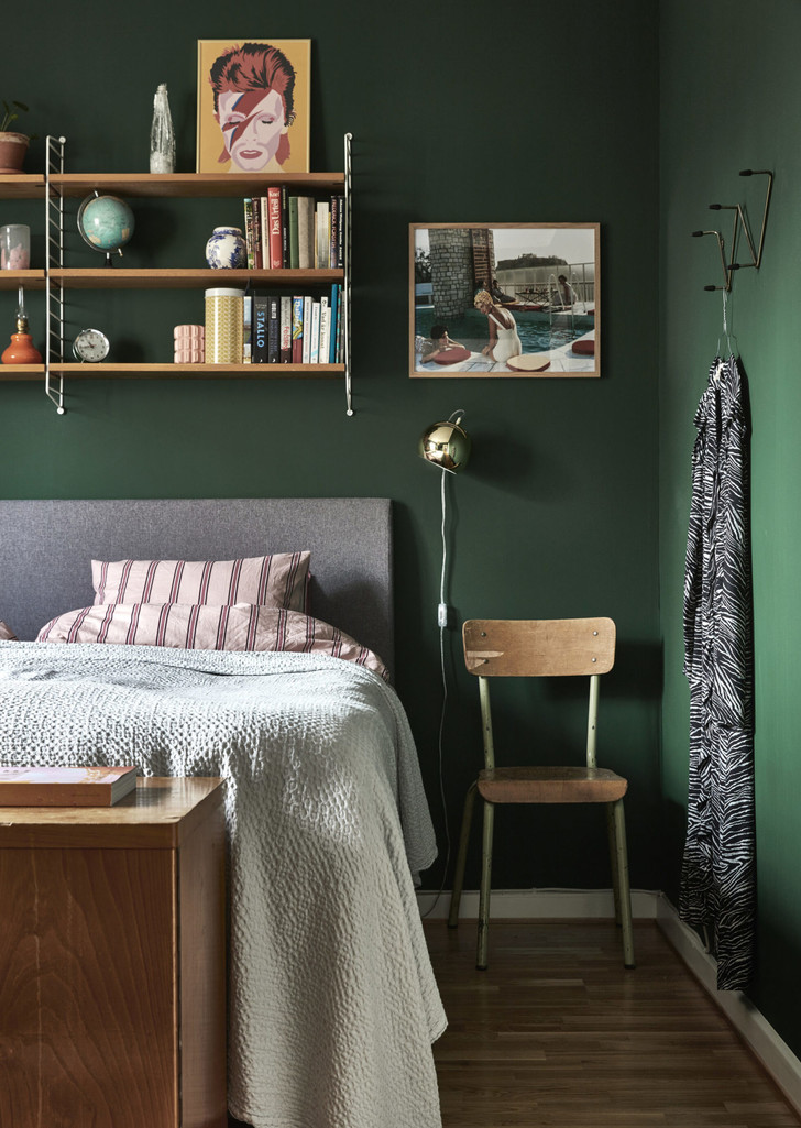 Фото №20 - Стена над изголовьем кровати: 10 идей декора