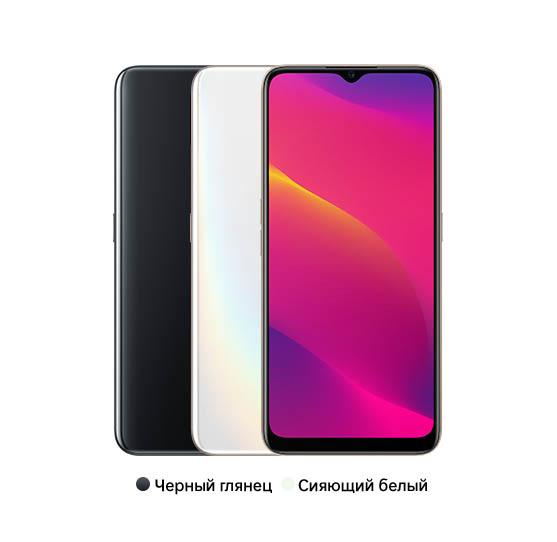 Смартфоны представлены в двух цветах: черный глянец и сияющий белый