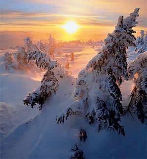 Фото №1 - Почему зимой солнце светит, но не греет?
