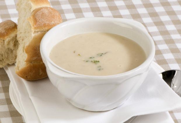 Крем-суп из курицы фото