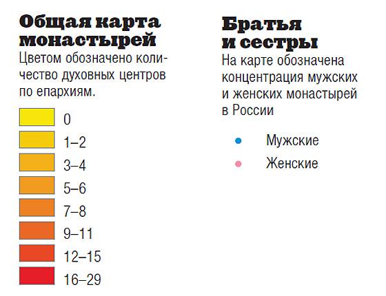 Фото №3 - Монастыри России. Инфографика
