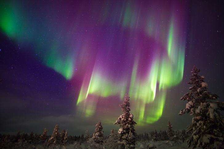 Фото №1 - Финский отель нанял смотрителя за северным сиянием