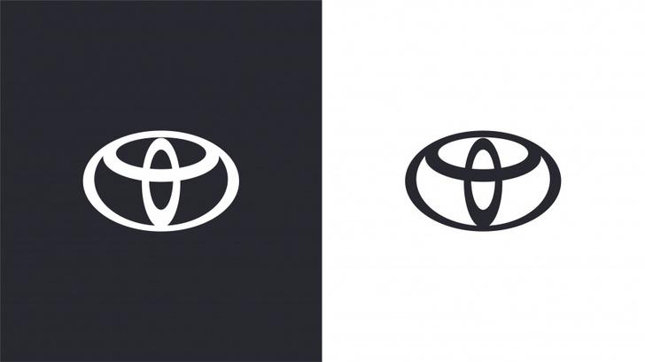 Фото №1 - Toyota обновила фирменный логотип. Но сразу это и не заметишь