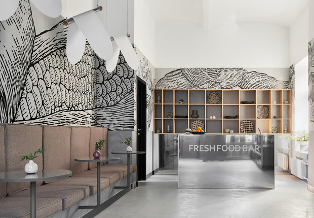 Фото №1 - Маленькое кафе здоровой еды Fresh Food Bar в Москве