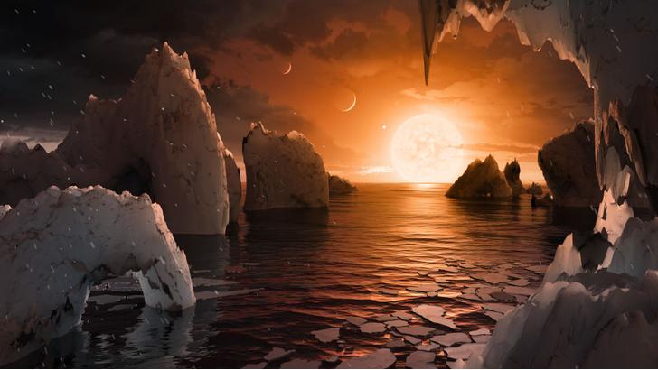 Фото №1 - Система TRAPPIST-1 признана непригодной для жизни