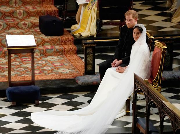 Фото №61 - Свадьба Меган Маркл и принца Гарри: как это было (видео, фото, комментарии)