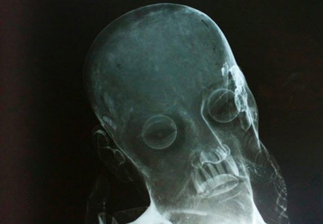 Фото №4 - 9 странных предметов, найденных внутри статуй