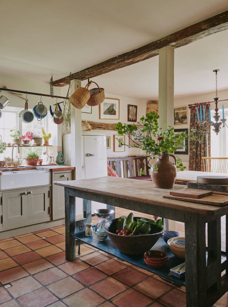 Фото №3 - Дом дизайнера и антиквара в Хэмпшире