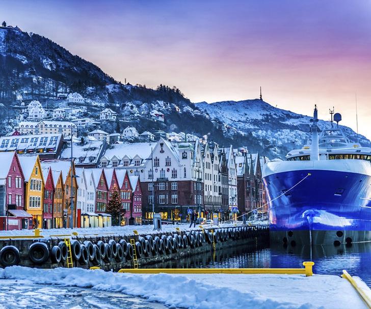 Фото №1 - Место дня. Берген (Норвегия)