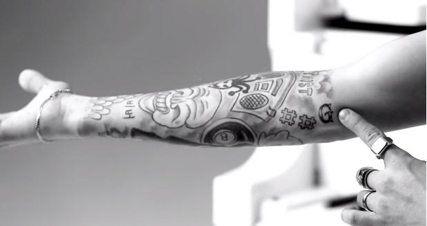 Фото №7 - Все, что надо знать о татуировках Джастина Бибера