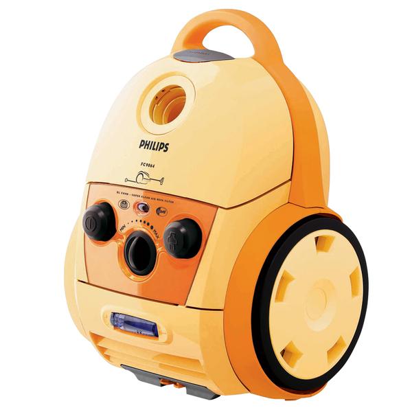 Модель FC9064 (Philips), 4800 руб., снабжена системой Active Fragrance Control ароматизации воздуха.