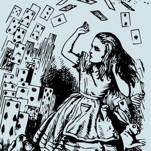 Фото №1 - Тест-рулетка: Какая цитата из «Алисы в Стране Чудес» опишет твой 2021 год?