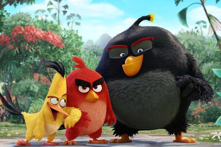 Фото №1 - Angry Birds спасают Новый год