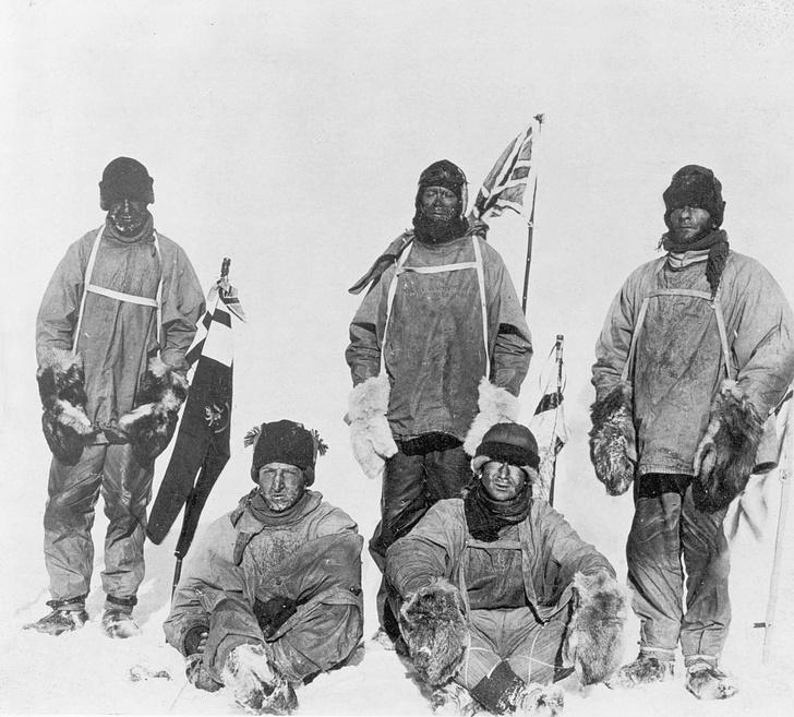 Фото №1 - В Антарктиде найден рисунок участника экспедиции Роберта Скотта