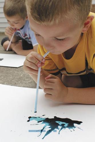 Фото №4 - Творческое воспитание. Следы мыльных пузырей
