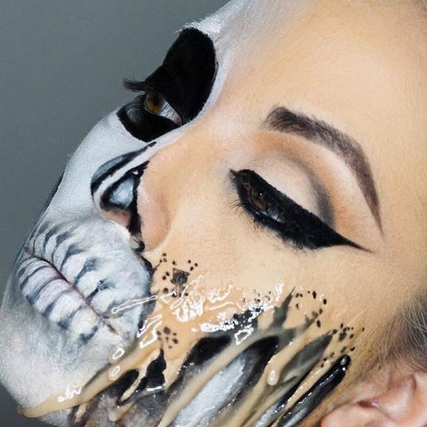 Фото №29 - 25 идей, как раскраситься на Хэллоуин