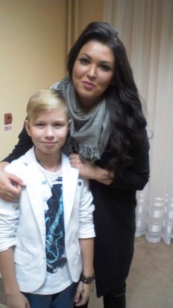 Ирина Дубцова и Ваня Стариков