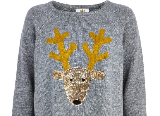 Фото №1 - Новогоднее настроение: топ-8 праздничных свитеров