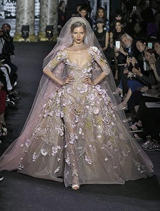 Фото №5 - В деталях: лучшие свадебные платья haute couture осень/зима 2016