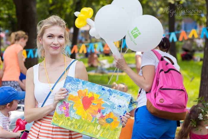 Фото №1 - В Москве прошел городской пикник SelfMamaDay
