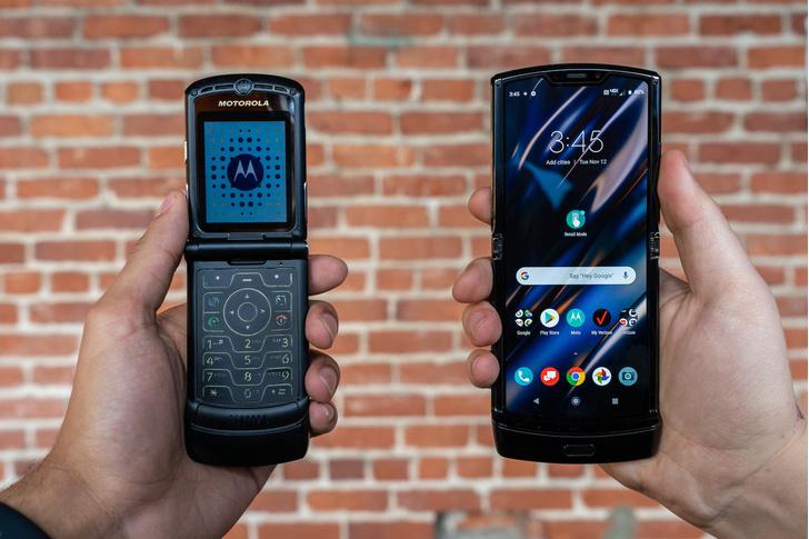 Фото №1 - Motorola RAZR возвращается как полноценный смартфон со складным экраном