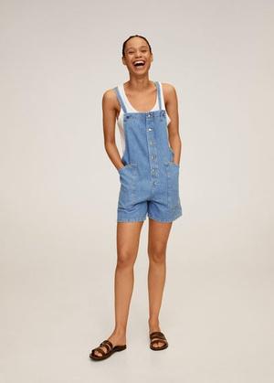 Фото №6 - Этим летом всем нам нужен джинсовый комбинезон как у Эммы Робертс. Собрали 10 стильных вариантов из денима и не только