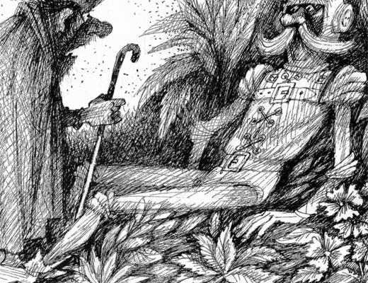 Фото №1 - Станислав Лем. История о множественниках, их короле Мандрильоне, советчике его совершенном и Трурле-Конструкторе, который сперва советчика создал, а потом погубил