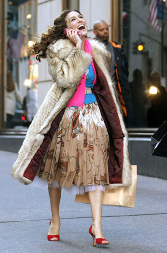 Фото №11 - Стиль в большом городе: любимые бренды Кэрри Брэдшоу