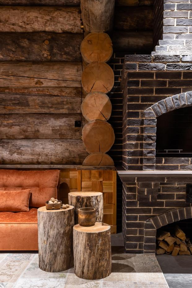 Фото №3 - Деревянная баня с высокотехнологичным дизайном в Подмосковье