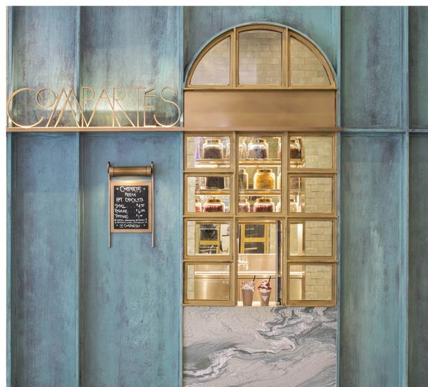 Фото №5 - Шоколадная фабрика: кондитерская Compartes по дизайну Келли Уэстлер