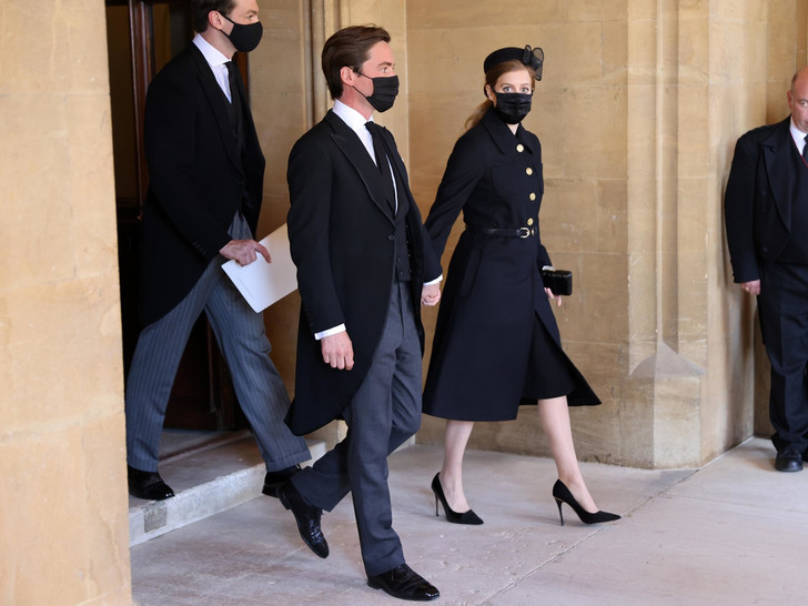 Фото №11 - Последний путь принца Филиппа: как королевская семья прощалась с любимым мужем, отцом и дедушкой