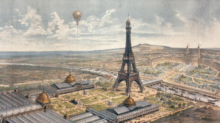 Фото №2 - 19 монументальных фактов об Эйфелевой башне