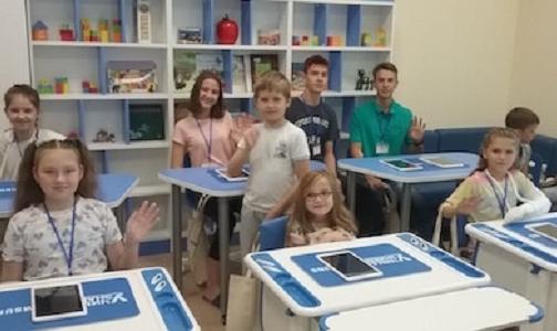 Фото №1 - В детской областной больнице открылся мультимедийный класс