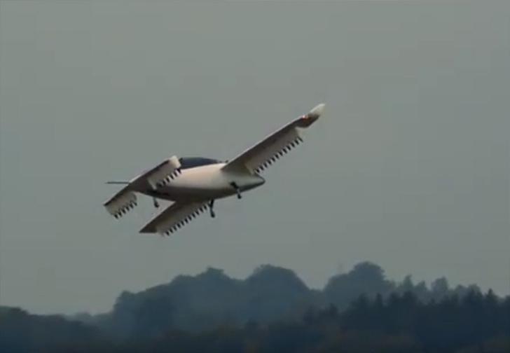 Фото №1 - Компания из Германии показала работающий прототип летающего электротакси Lilium (видео)