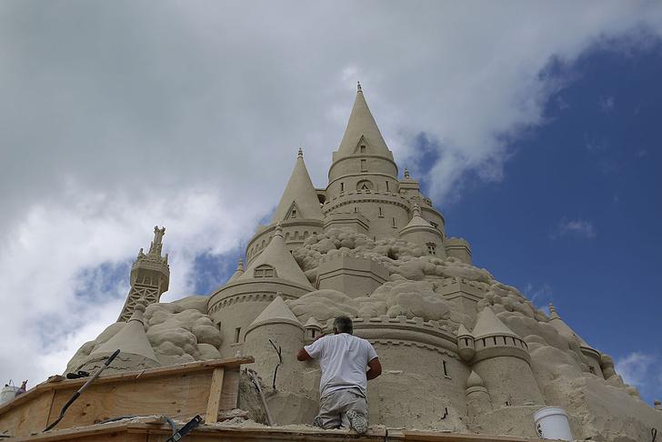 Фото №1 - Как построить идеальный песочный замок