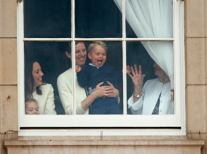 Фото №3 - Принца Джорджа преследуют папарацци