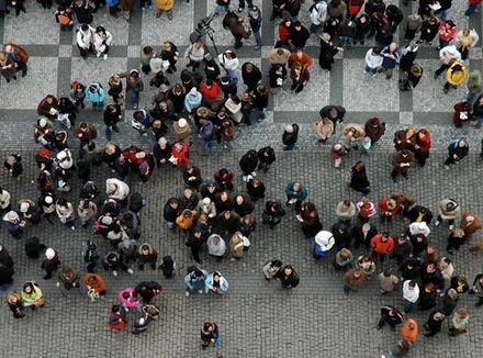 Равнодушие толпы