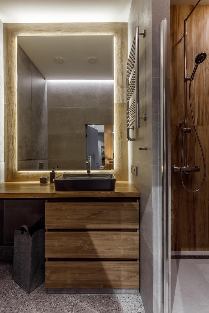 Фото №8 - Квартира-студия 33 м² с угловым окном в Геленджике