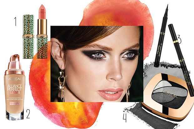 Фото №3 - 3 идеи новогоднего макияжа