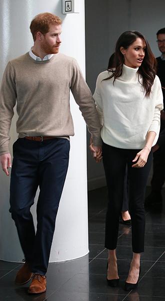 Фото №11 - Меган Маркл и принц Гарри приехали в Бирмингем