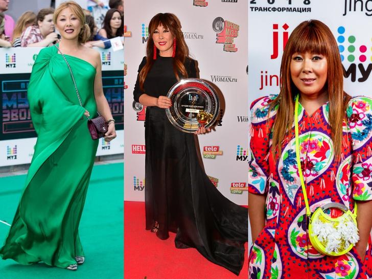 Фото №19 - Незабываемые образы звезд на «Премии МУЗ-ТВ»: модные взлеты и падения