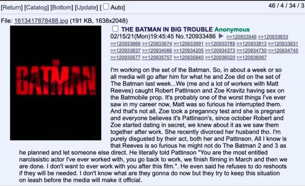 Фото №1 - В Интернете обсуждают слух о романе Зои Кравиц и Роберта Паттинсона