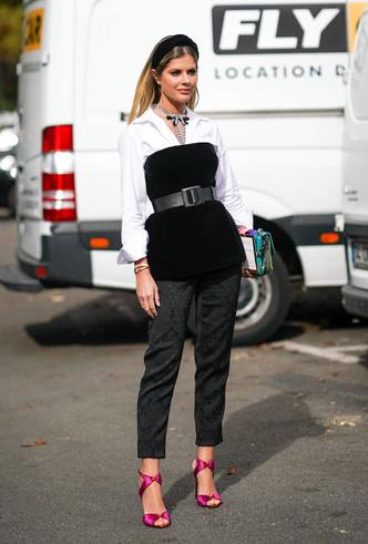 Фото №16 - С чем носить белую рубашку: стильные идеи на любой случай