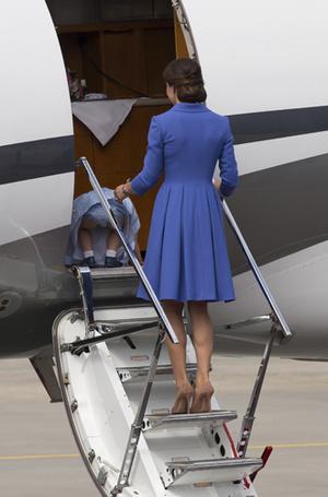 Фото №10 - Мама, ну идем же: принцессе Шарлотте не терпелось покинуть Польшу