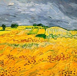 Фото №1 - На аукцион выставлена последняя картина Ван Гога